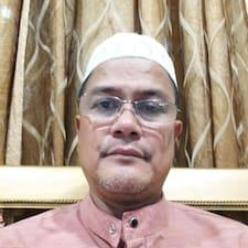 Kamaludin felhasználói profilja