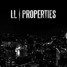 Henkilön LL Properties käyttäjäprofiili