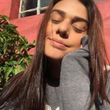 Thayna felhasználói profilja