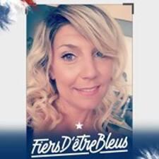 Célia felhasználói profilja