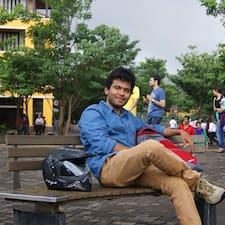 Harish felhasználói profilja