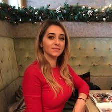 Madalina felhasználói profilja