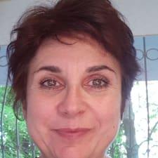 Indira felhasználói profilja