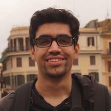 Siddhant felhasználói profilja