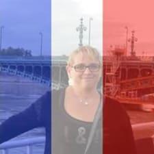 Ghislaine felhasználói profilja