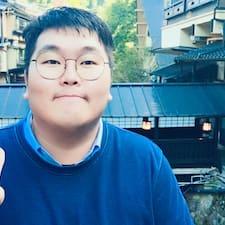 Mingyu felhasználói profilja