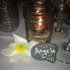 Perfil do utilizador de Angela