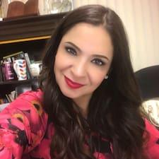 Ana Luisa felhasználói profilja