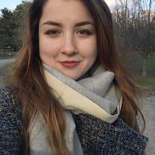Profil utilisateur de Elvina