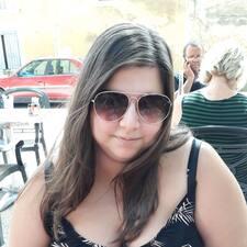 Melany felhasználói profilja