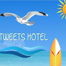 Perfil de usuario de Tweets Hotel