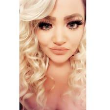 Andrina felhasználói profilja