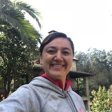 Sofía felhasználói profilja