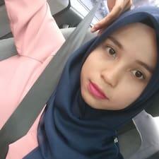 Azizah felhasználói profilja