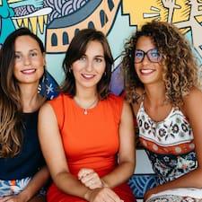Profil utilisateur de Camille, Katherine & Mélissa