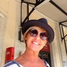 Claudia felhasználói profilja