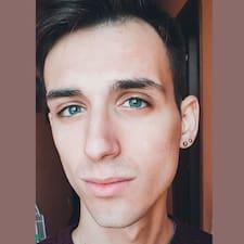 Fridiano felhasználói profilja
