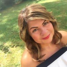 Simone felhasználói profilja