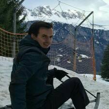 Användarprofil för Tomáš