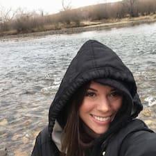 Sarena felhasználói profilja
