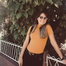 Yasmin felhasználói profilja