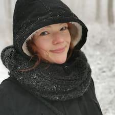 Sonja felhasználói profilja