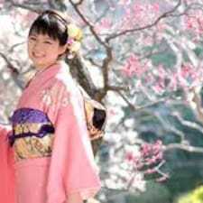 Takeko felhasználói profilja