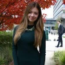 Profil utilisateur de Yuliia