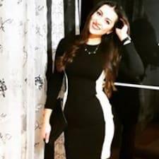 Eleonora felhasználói profilja