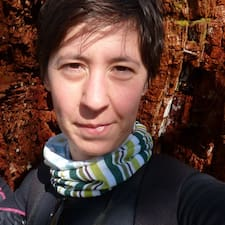 Mélanie felhasználói profilja