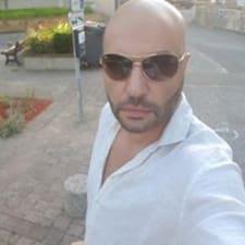 Mounir felhasználói profilja
