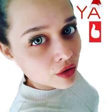 Perfil do utilizador de Yuliya