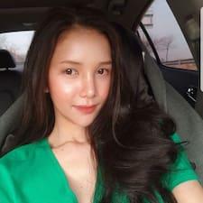 Hana felhasználói profilja