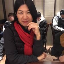 Chieko felhasználói profilja