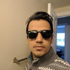 Rajesh felhasználói profilja