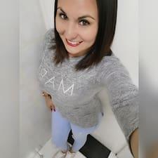 Maria Jose felhasználói profilja