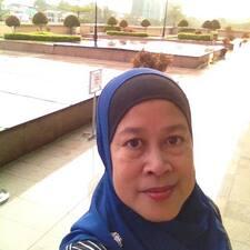 Henkilön Siti Asmah käyttäjäprofiili