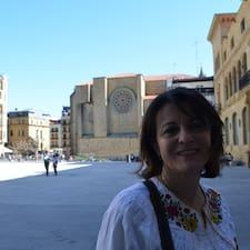 María Isabel felhasználói profilja
