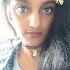 Profil utilisateur de Supritha