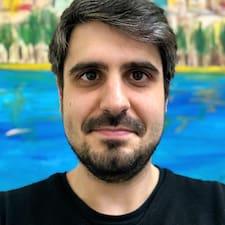 Användarprofil för João