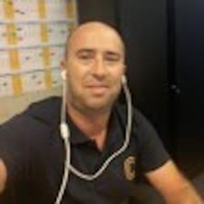 Marco felhasználói profilja