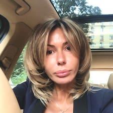 Elizaveta felhasználói profilja
