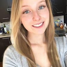 Cynthia felhasználói profilja