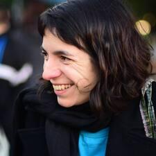 Silvia felhasználói profilja