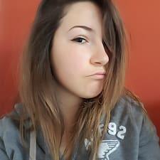 Lidia felhasználói profilja