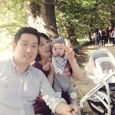 Jeongsang felhasználói profilja