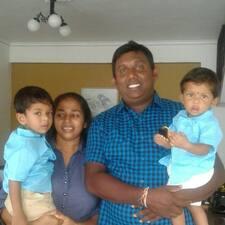 Rajith felhasználói profilja