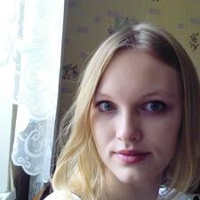 Мария felhasználói profilja