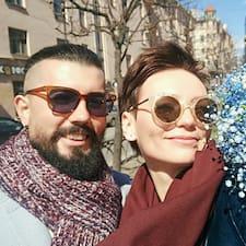 Kristina And Dmitry! bir süper ev sahibi.