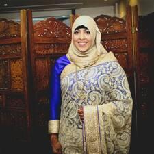 Profil utilisateur de Halima